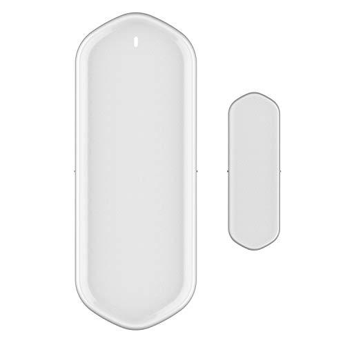 Gaoominy los Sensores de Puertas y Ventanas, los Sensores Inteligentes de Puertas y Ventanas Son Compatibles con Detectores MagnéTicos, Admiten el Control por APP