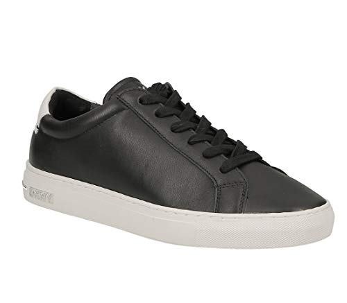 DKNY Court Lace up Sneaker k2488771 Nappa Leather Black Blck Pointure 36