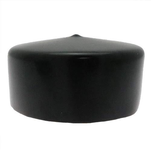 4-delige ronde PVC-hek of paalkap - 88,9 mm x 38,10 mm, flexibele dopoplossing