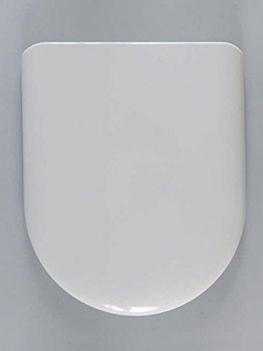 Haro Stream WC-Sitz, weiß, Scharnier FastFixmutter B0302Y; 516343; passend zu Keramag Renova Nr. 1 und Laufen Pro
