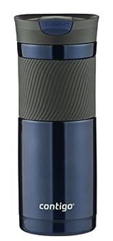 Contigo SnapSeal Byron Vacuum Insulated Stainless Steel Travel Mug 20oz Monaco