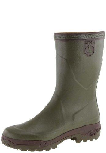 Aigle - PARCOURS 2 BOTT - Chaussures de Chasse - Homme - Vert (Kaki) - 48 FR