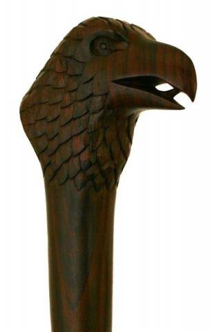 windalf Randonnée Tige sombre de préhension Griffin H : 130 cm en bois