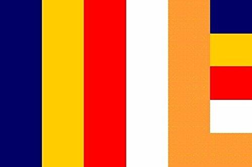 U24 Fahne Flagge Buddhist World 90 x 150 cm