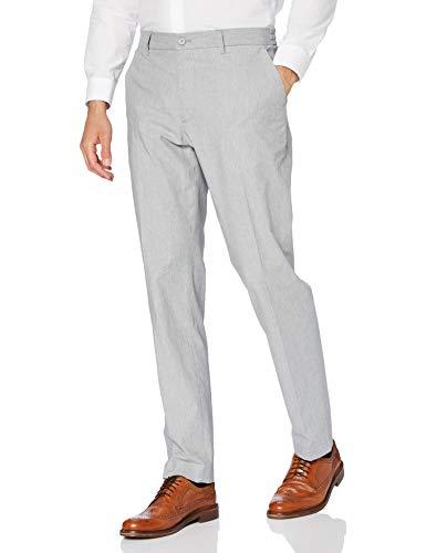 Cortefiel Canutillo CINT Elast Slim Pantalones, Gris (Gris Medio 45), 42 (Tamaño del Fabricante: 42) para Hombre