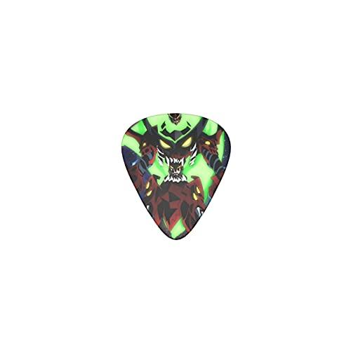 Gurren Lagann Púas de guitarra Triángulo Clásico Púas de Guitarra Patrón Nuevo Púas de Guitarra El Regalo Perfecto para Guitarras Acústicas y Eléctricas