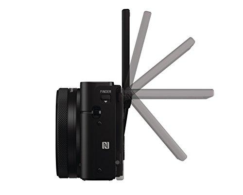 Sony RX100 IV Premium Kompakt Digitalkamera (21 MP, 7,6 cm (3 Zoll) Display, 1 Zoll Sensor, 24-70 mm F1.8-2.8 Zeiss Objektiv, 4K) schwarz