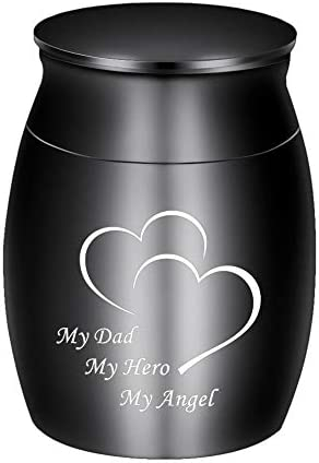 Dletay Small Keepsake Urns for Human Ashes Mini Cremation Urns for Ashes Stainless Steel Small product image