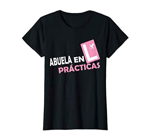 Mujer Abuela en Prácticas Abuelos Primerizos Regalos Futura Abuela Camiseta