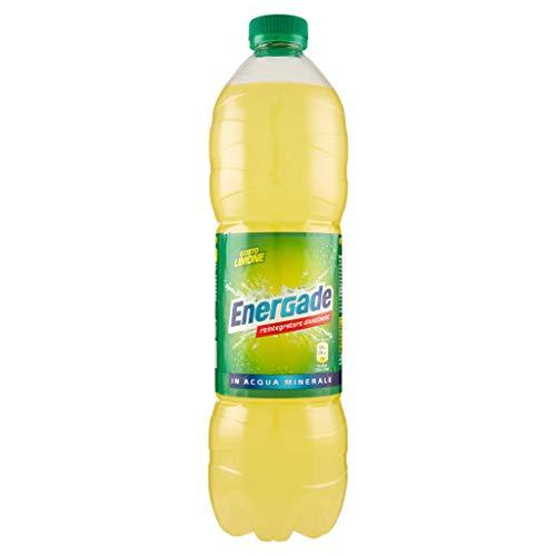 6X Energade Limone Bevanda Energetica Lemon Drink Energy Drink Refreshing Soft Drink 1,5Lt