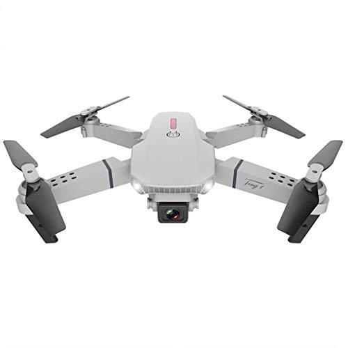 大人用WiFiFPVドローンカメラ、折りたたみ式RCクワッドコプター4K HDデュアルカメラ高度保持重力制御フォローモードヘッドレスモード初心者向けのワンキー離陸/着陸、4k一眼レフ