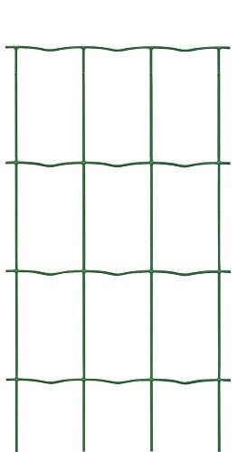 VERDELOOK Rete Metallica Multiuso plastificata Recinplast per recinzioni 1x10 m