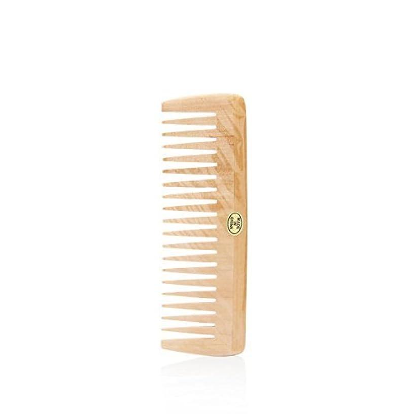 要塞オーバードロー証明するBath Accessories Wood Detangling Comb [並行輸入品]