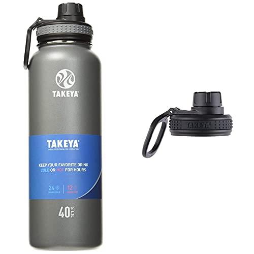 Takeya Originals 40 oz Vacuum-Insulated Bottle