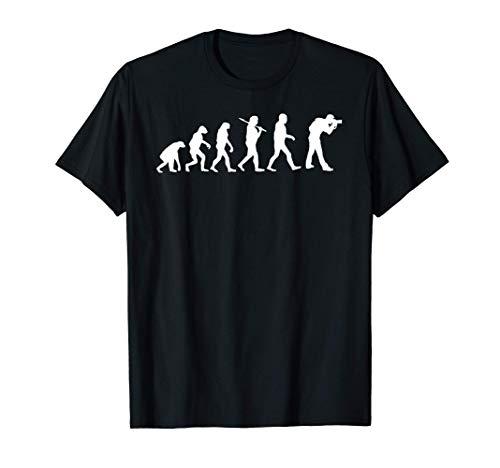 Evolution Fotograf Fotografie Photo Foto T-Shirt