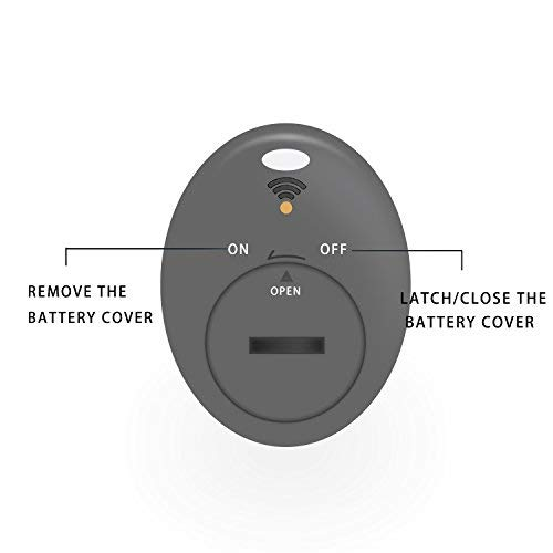 JTD ® Wireless RF Item Locator/Key Finder with LED flashlight and base support. With 4 Receivers Key Finder-Wireless key RF locator, Remote Control, Pet, Cell, Wireless RF Remote Item, Wallet Locator. (4 Receivers)