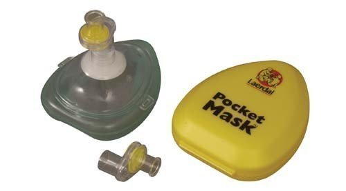 Laerdal Erste Hilfe Gesichtschutz Persönlich Shutz- Tasche Plastik Gesichtsmaske