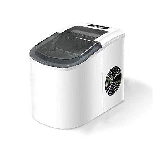 Máquina para hacer hielo portátil para encimera, hace 33 libras de hielo por 24 horas - cubitos de hielo listos