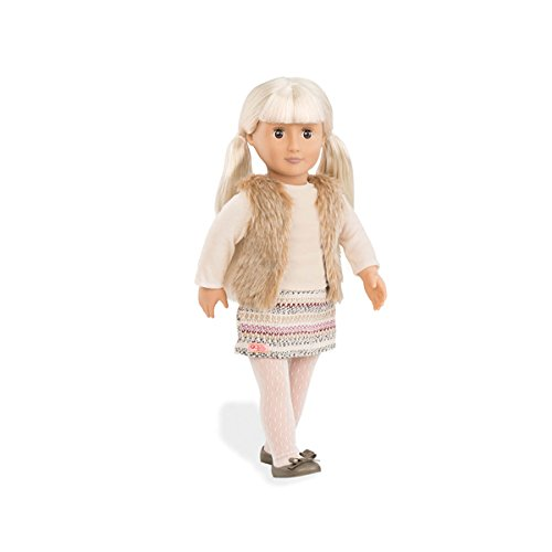 Our Generatioin 44411 Dollw Hooded Furry Vest, Aria