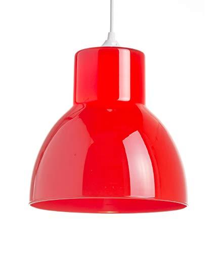 Lussiol 250166 Suspensions d'éclairage intérieur, Rouge
