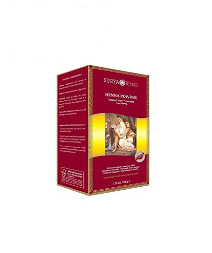 Brasil Pulver, natürliche Haarfärbung und Behandlung Pulver, Neutral - Surya Henna
