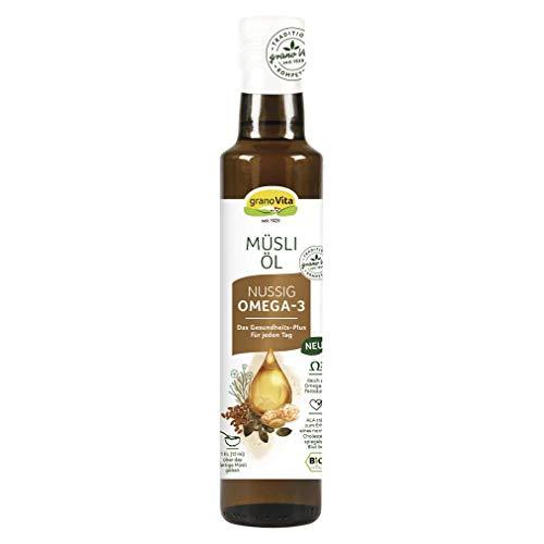 granoVita Bio Müsli Öl Nussig, 250ml