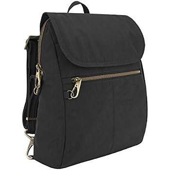 Travelon Women's Anti-Theft Signature Slim Backpack