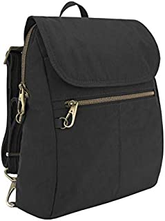 Travelon: Anti-Theft Signature Nylon Slim Backpack - Black