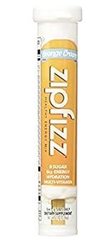 Zipfizz Healthy Energy Drink Mix  Orange Cream 30-Count