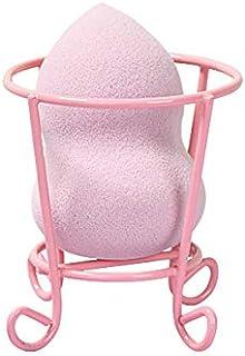 Maycreate Lattliv Beauty Makeup Latex-free Sponge Blender Set with Beauty Tool Dryer Drying Rack Powder Puff Holder (Pink)