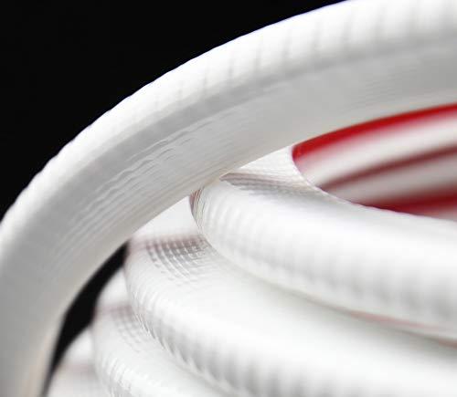 KS1-4W Kantenschutzprofil von SMI-Kantenschutzprofi - PVC Gummi Klemmprofil - Stahleinlage - Kantenschutz - Weiß - einfache Montage, selbstklemmend ohne Kleber Klemmbereich 1-4 mm (3 m, weiß)