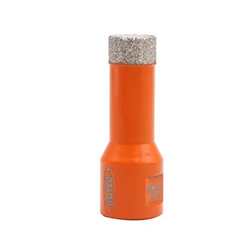 BGTEC Brocas de Núcleo de Diamante Seco para Baldosas de Porcelana, Mármol, Cerámica, Ladrillo con Rosca M14 de 16 mm de Diámetro