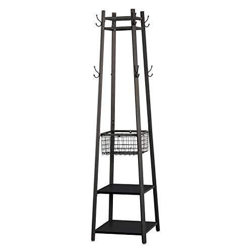 VECELO Industrial Coat Rack