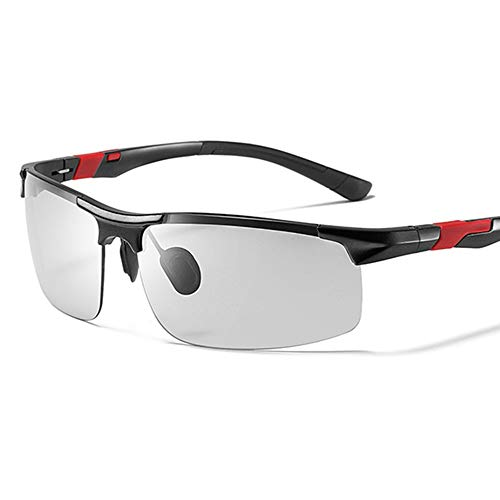 Bseack Gafas de Sol Gafas de Sol polarizadas for los Hombres adaptativa...