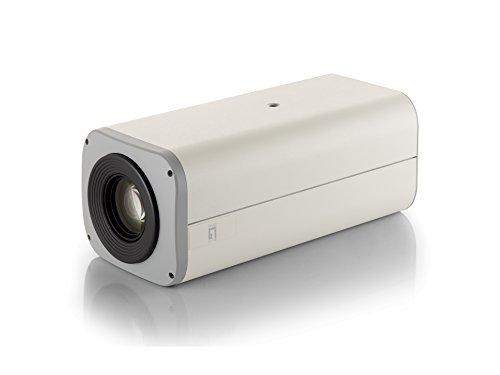 LevelOne Hubble Zoom IP-Netzwerk-Kamera, 5 Megapixel, 802.3af PoE, 12fach Optischer Zoom, Zwei-Wege Audio