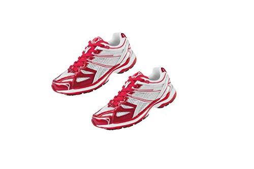 Crivit Damen Laufschuhe Fitness Schuhe Sportschuhe Trainingsschuhe Top Qualität NEU (Rot-Weiß EU37)