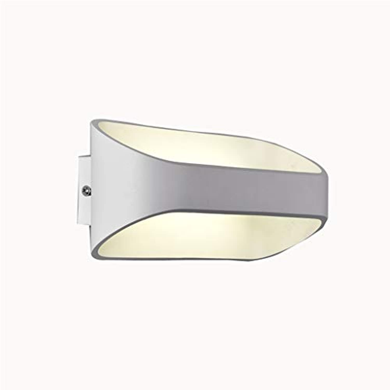 LED Wandleuchte, Scheinwerfer Bett Gang Treppe Balkon Eingang Villa Hotel Haustür Einfach Lampe (gre   8W)