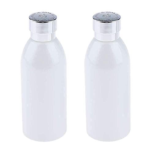 Botella cosmética de Viaje Botella de Viaje de Bote de Tarro de Vidrio vacío de 120 ml para loción líquida