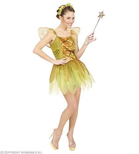 Widmann wdm58173–Kostüm für Erwachsene Fee der Wälder goldfarben, grün, L