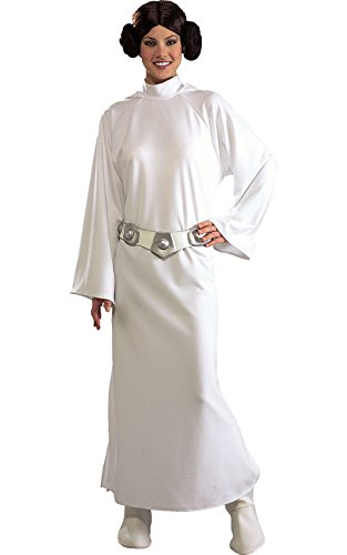 Rubie's Women's Star Wars Princess Leia Deluxe Costume, One Size