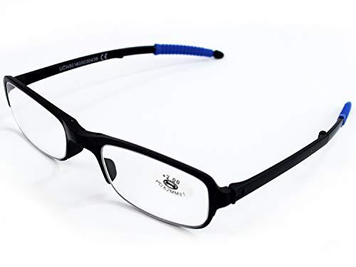 Gafas Plegables de Lectura Vista Cansada Presbicia, Graduadas Dioptrías +1.00 hasta +4.00,...