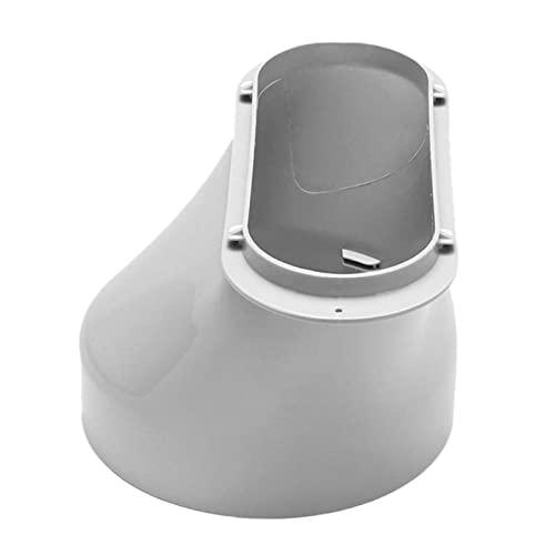 In acciaio inox Air Vent Griglia Copertura 13/15 cm Diametro Portatile Aria Condizionata Corpo Tubo di Scarico Interfaccia Connettore Condizionatore Parti Facile Installare Dropship
