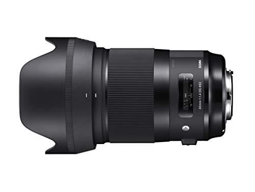 Sigma F1.4 DG HSM Art - Objetivo Standard réflex 40 mm para Nikon, Color Negro