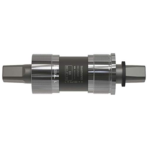 SHIMANO BB-UN300 Bottom Bracket - English, 68 x 122.5mm Spindle, Square Taper JIS, 50mm Chainline