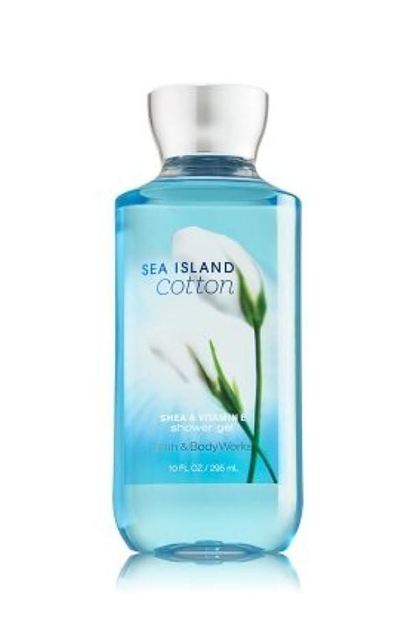 既婚組み合わせる爪【Bath&Body Works/バス&ボディワークス】 シャワージェル シーアイランドコットン Shower Gel Sea Island Cotton 10 fl oz / 295 mL [並行輸入品]