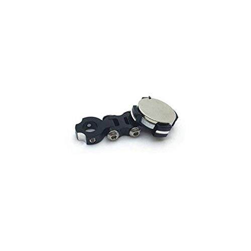GzxLaY Magnetic Car Shell Post Mount Invisible Body Post Mount for 1/10 SCX10 D90 Sakura D3 D4 RC Car Parts Accessories Spare Parts Accessories ( Color : Black )