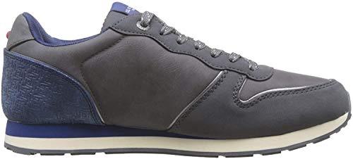 U.S.POLO ASSN. Herren SOREN1 Club Sneaker, Multicolore (Ash/Milg 033), 43 EU