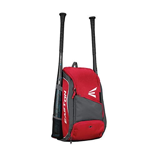 Easton Game Ready Rucksack für Schläger und Ausrüstung, Rot