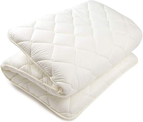BJDesign Futon Mattress Full Bedding - Traditional Japanese Sleeping Mat - Shikibuton Shiki Futon - Floor Beds for Apartment, Home, Studio - Double Volume Cotton Padding - 80 x 52 x 4 Inch
