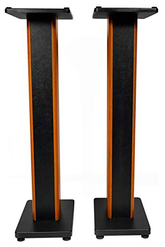 Rockville 2 RHTSC 36' Inch Bookshelf Speaker Stands Surround Sound Home Theater